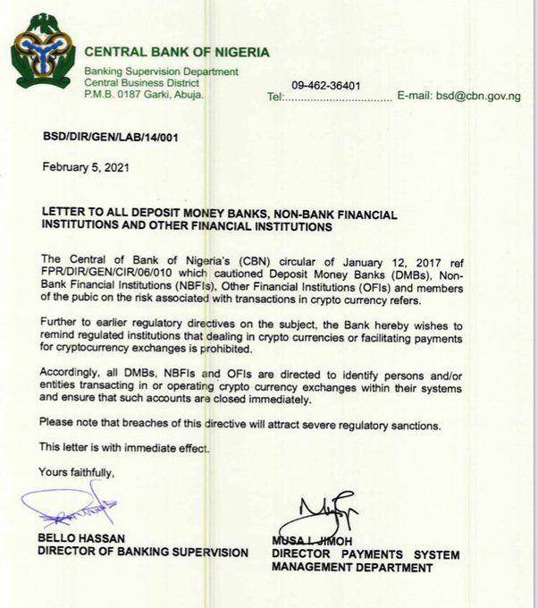 come il commercio su bitcoin in nigeria